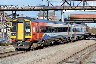 158 810 Nottingham 30 March 2016