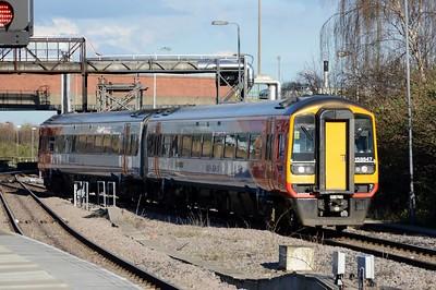 158 847 Nottingham 30 March 2016