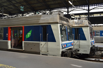 ZA6516 & ZA6419 Paris St Lazare 11 April 2014