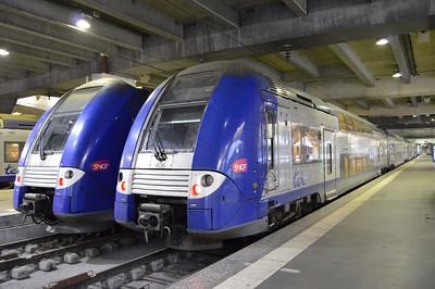 406 & 434 Paris Gare Montparnasse 12 April 2014 TER Centre