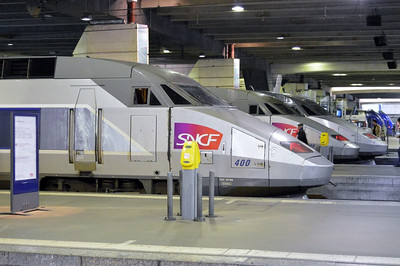 TGV set 400 Paris Gare Montparnasse 12 April 2014