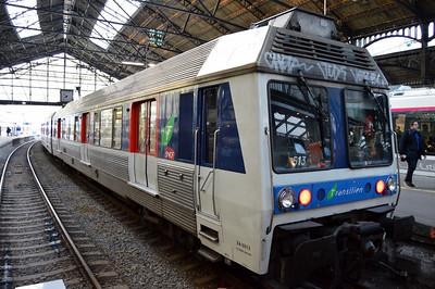 ZA6513 Paris St Lazare 11 April 2014