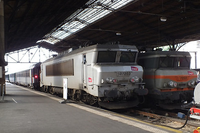 507203 & 7255 Paris Austerlitz 25 June 2013