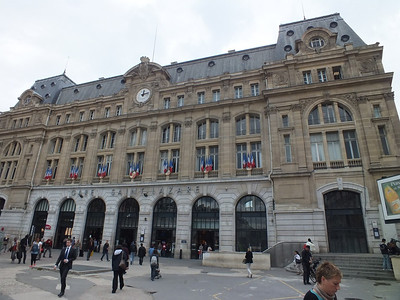 Exterior of Paris St Lazare 24 June 2013