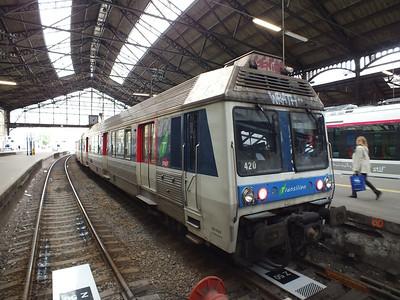 ZB6420 Paris St Lazare 24 June 2013