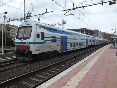 Treno 28 Roma Tuscolana 22 November 2013
