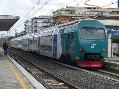 Treno 01 Roma Trastevere 20 November 2013