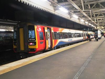 158 858 Sheffield 27 December 2012