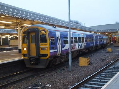 158 905 Sheffield 28 December 2012