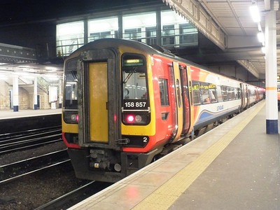 158 857 Sheffield 27 December 2012
