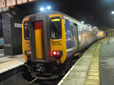 156 455 Sheffield 27 December 2012