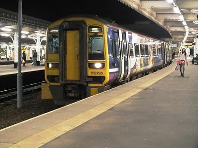 158 795 Sheffield 27 December 2012