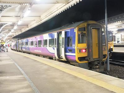 158 848 Sheffield 27 December 2012