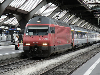 460 037 Zurich Hbf 14 September 2009