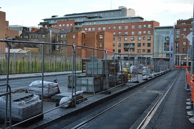 Luas XC Dominick St Lower stop 17 November 2016