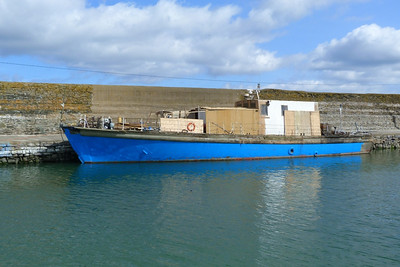 A recent arrival into Balbriggan harbour, the former RN torpedo boat Portishead. Thursday, 07/04/11