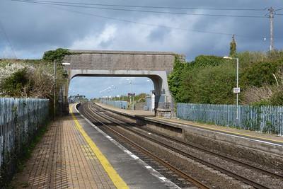 The station and road-bridge at Gormanston, Monday, 04/04/11