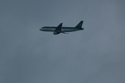 Howth is also a good location to see planes heading into Dublin Airport. EI-DEJ, Monday, 09/04/12