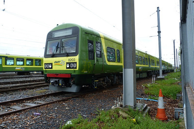 8203. It has the revised the front windscreen. Fairview, Monday, 09/04/12