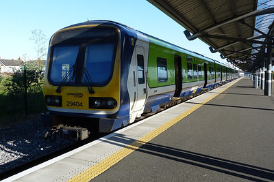 29404 at Docklands, waiting to form the 09:00 to M3 Parkway. Thursday, 05/04/12