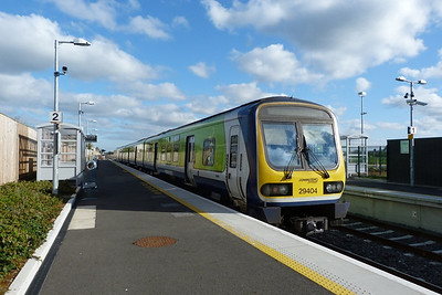 29404 just after arriving into Dunboyne. Thursday, 05/04/12