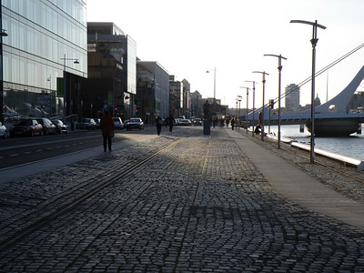 Sir John Rogerson's Quay 5 April 2013