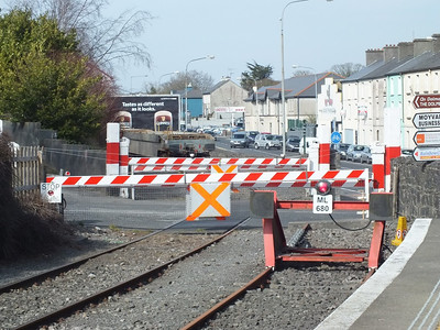 Level Crossing Ballina 6 April 2013
