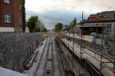 Luas XC Navan Road looking north 27 April 2017
