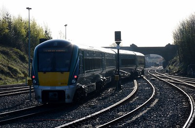 22218 departs Drogheda 21 April 2018