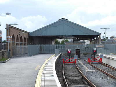 Station roof at Kilkenny 3 August 2013