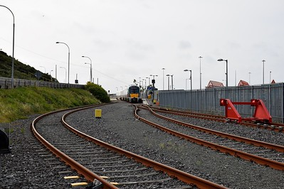 22323 Rosslare Harbour and track  layout 17 August 2018