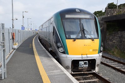 22223 at Rosslare Harbour17 August 2018