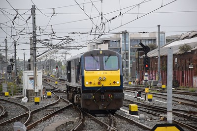 216 arrives into Connolly 11 August 2018
