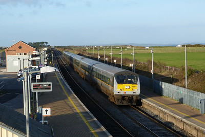9004 on the 12:35 Belfast Central to Dublin Connolly, Gormanston, Wednesday, 07/12/11