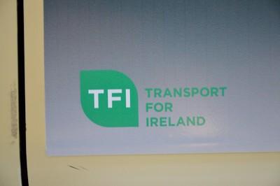 New TFI logon inside Luas 21 December 2015