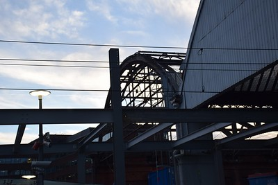 Pearse Station roof works 21 December 2018