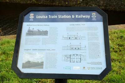 Info panel along Royal Canal, Leixlip 8 December 2018