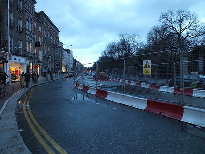 Luas works St Stephens Green 1 February 2014