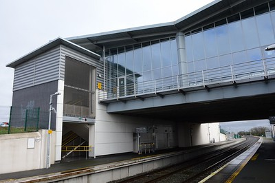 Station building at Hansfield 25 February 2017