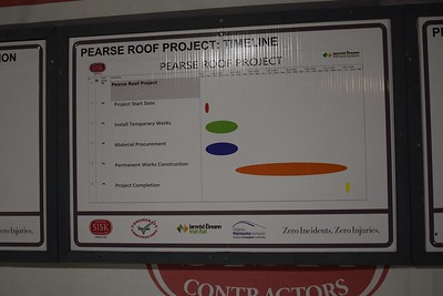 Pearse roof timeline 3 January 2019