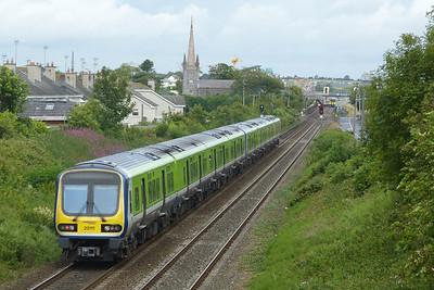 29111 on the 09:20 Bray to Drogheda, Balbriggan, Thursday, 07/07/11