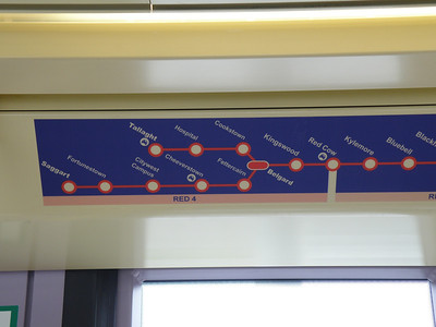 Revised Luas Red line Map 15 July 2011