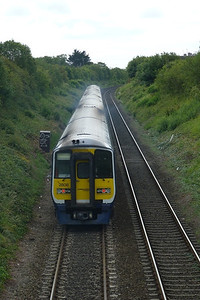 2808 on the 10:50 to Dublin Pearse from Balbriggan, Thursday, 07/07/11
