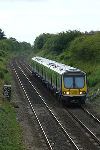 29405 on the 09:40 Bray to Drogheda, Balbriggan, Thursday, 07/07/11