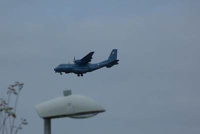 252 of the Air Corps was doing a few fly-bys. City West Tuesday, 19/07/11