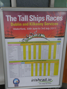 Waterford Timetable 2 July 2011