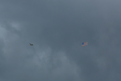 As today is Independence Day in the USA, this plane was spotted flying over Dublin. Wednesday, 04/07/12