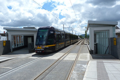 5023 departs Ranelagh, Wednesday, 11/07/12