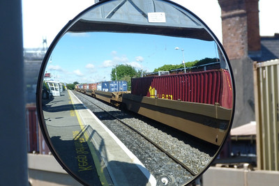 Reflections of the IWT. Drumcondra, Thursday, 12/07/12