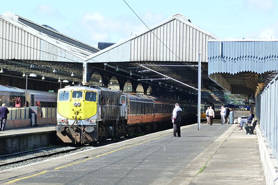 072 with the RPSI Cravens. Dublin Connolly, Sunday, 15/07/12